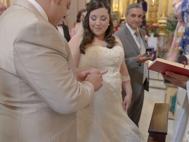 La boda de Sergio y Elisabeth en Archena, Murcia 29
