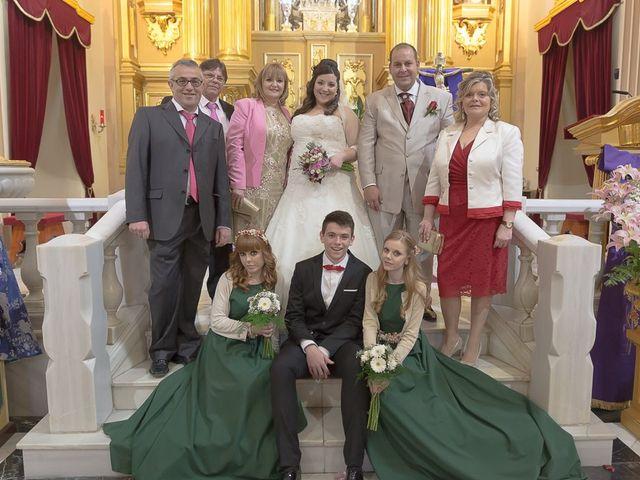 La boda de Sergio y Elisabeth en Archena, Murcia 34
