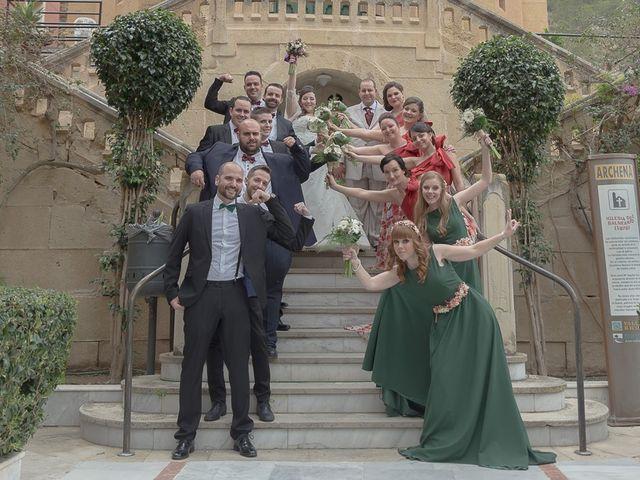 La boda de Sergio y Elisabeth en Archena, Murcia 40