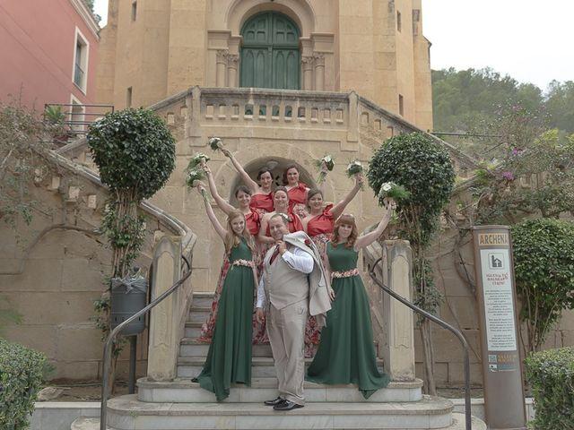 La boda de Sergio y Elisabeth en Archena, Murcia 42