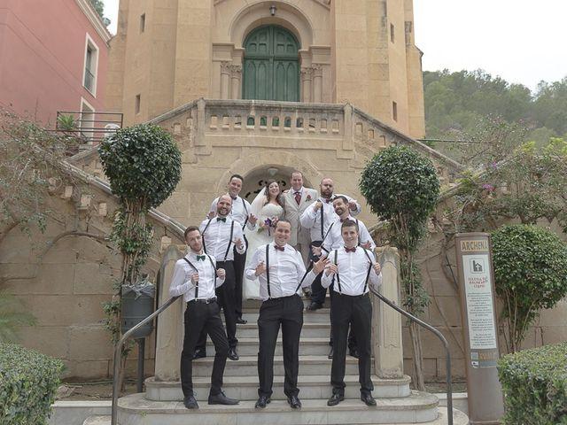 La boda de Sergio y Elisabeth en Archena, Murcia 43