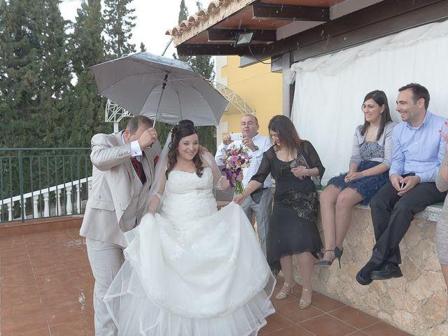 La boda de Sergio y Elisabeth en Archena, Murcia 44