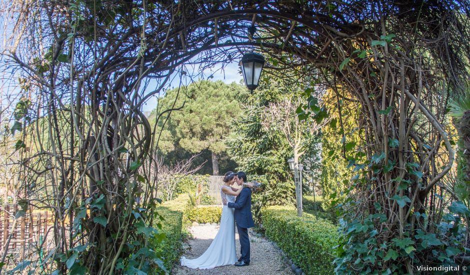 La boda de Tommy y Xia en Montornes Del Valles, Barcelona