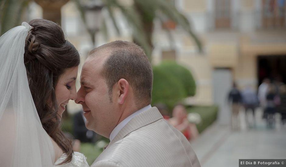 La boda de Sergio y Elisabeth en Archena, Murcia