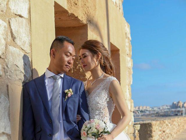 La boda de Ben y Inés en La Mata, Alicante 2