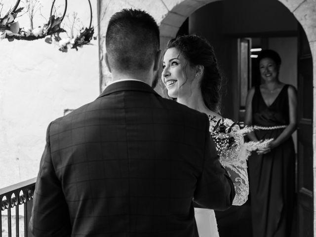 La boda de Esther y Santi en Sant Marti De Tous, Barcelona 9
