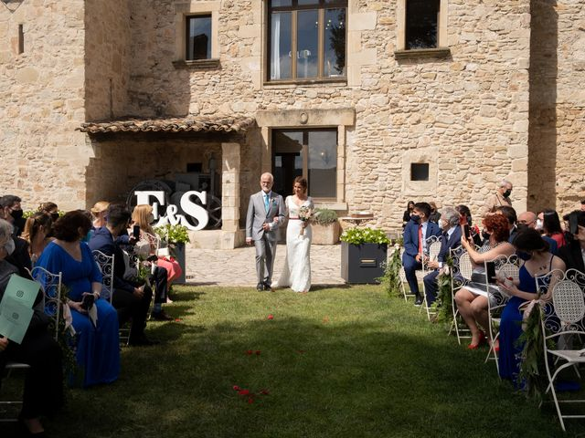 La boda de Esther y Santi en Sant Marti De Tous, Barcelona 12