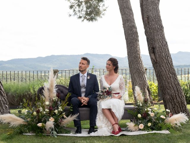 La boda de Esther y Santi en Sant Marti De Tous, Barcelona 14