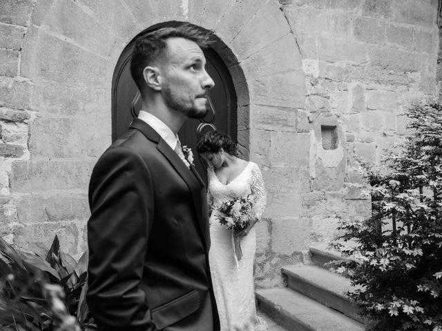 La boda de Esther y Santi en Sant Marti De Tous, Barcelona 25