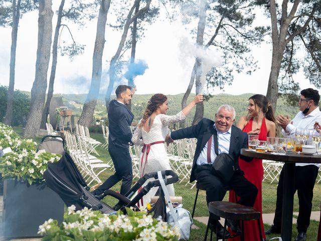 La boda de Esther y Santi en Sant Marti De Tous, Barcelona 28