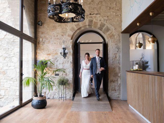 La boda de Esther y Santi en Sant Marti De Tous, Barcelona 32