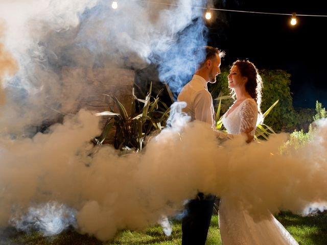 La boda de Esther y Santi en Sant Marti De Tous, Barcelona 36