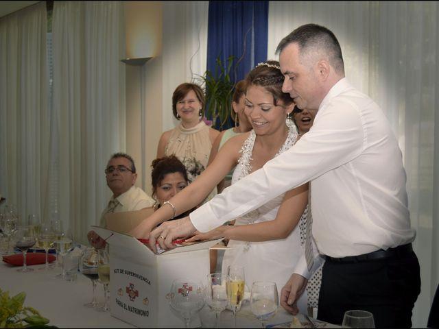 La boda de Liliana y Toni en Miramar, Valencia 1