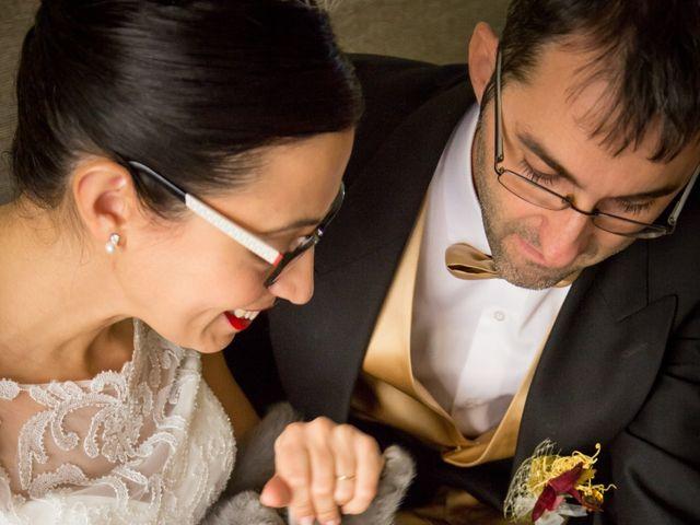 La boda de Andrés y Begoña en San Clemente, Cuenca 1