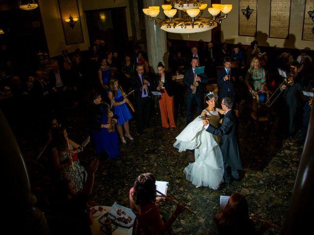 La boda de Andrés y Begoña en San Clemente, Cuenca 17