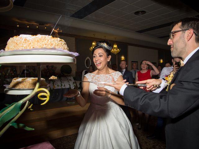 La boda de Andrés y Begoña en San Clemente, Cuenca 13