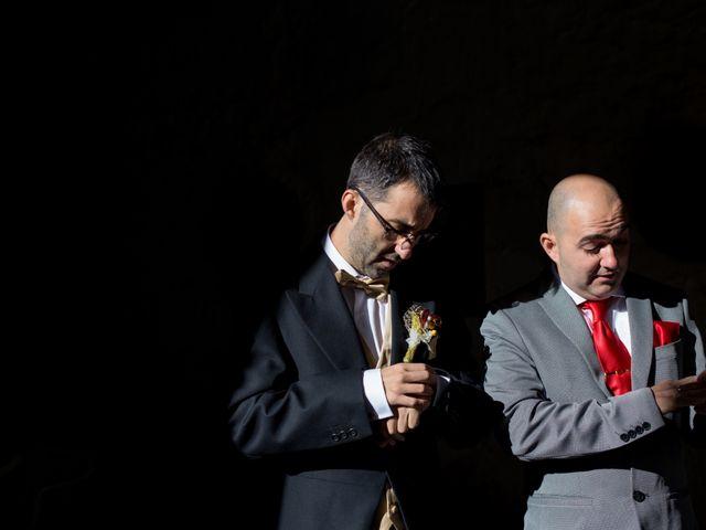 La boda de Andrés y Begoña en San Clemente, Cuenca 4