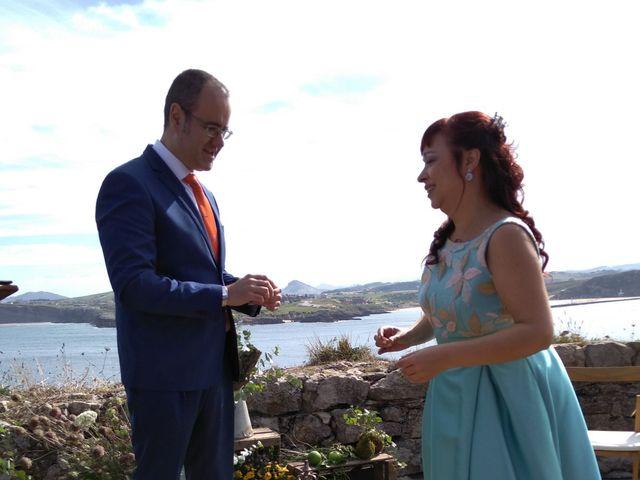 La boda de Antonio y Maika en Suances, Cantabria 1