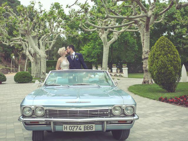 La boda de Albert y Ingrid en Santa Coloma De Farners, Girona 66