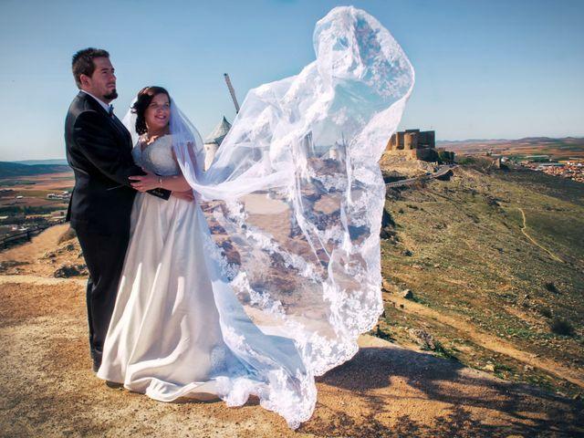 La boda de Miriam y Alvaro en Los Yebenes, Toledo 1
