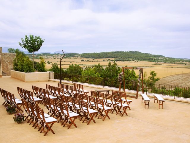 La boda de Martí y Lau en Orient, Islas Baleares 2
