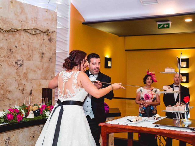 La boda de Santi y Sole en Pedrajas De San Esteban, Valladolid 92