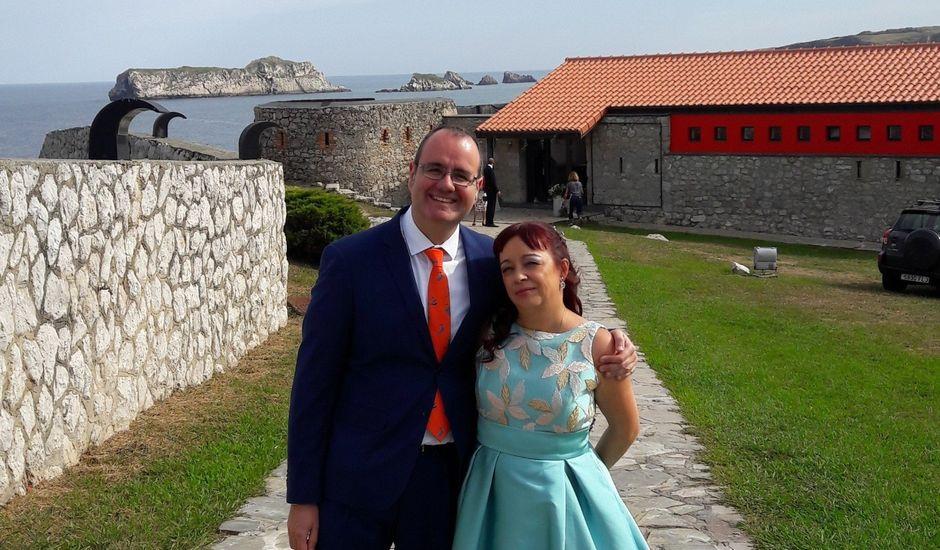 La boda de Antonio y Maika en Suances, Cantabria