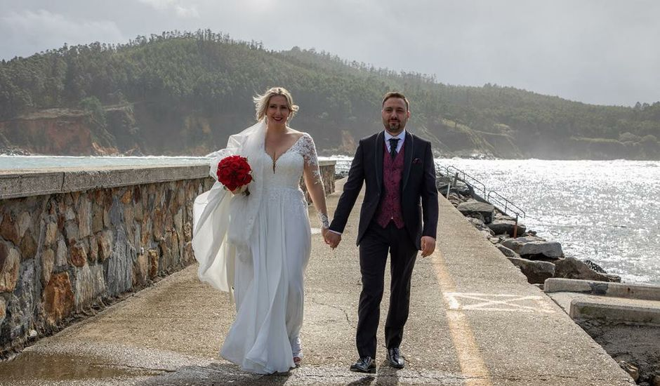 La boda de Alberto  y Fátima  en Ortigueira, A Coruña