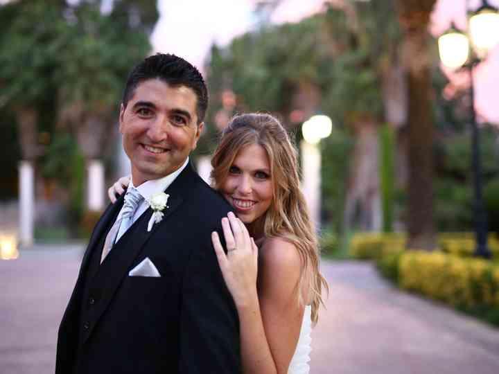 La boda de romina y leo
