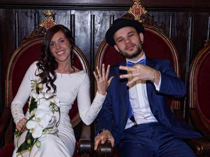 La boda de Paula y Vladis