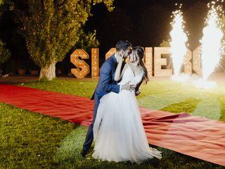 La boda de Gisela y David