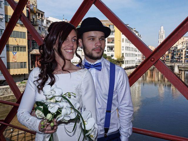 La boda de Vladis y Paula en Girona, Girona 4