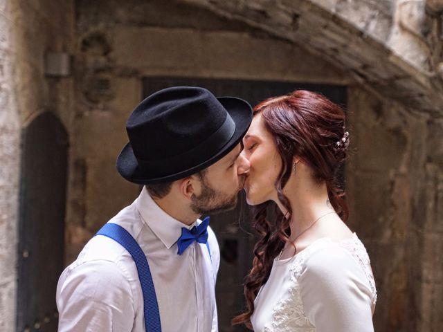 La boda de Vladis y Paula en Girona, Girona 12