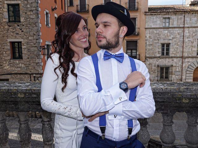 La boda de Vladis y Paula en Girona, Girona 15