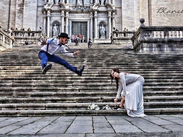 La boda de Vladis y Paula en Girona, Girona 2