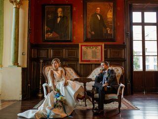 La boda de Estefanía y Rubén