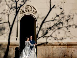 La boda de Mª Lluch y Xavi