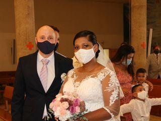 La boda de Sandra Ibarguen  y Yovany Bedoya  3