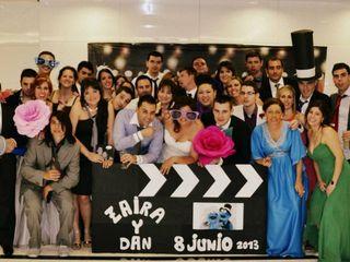 La boda de Zaira y Dan