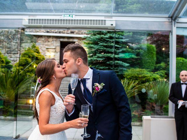 La boda de Andrea y Brais