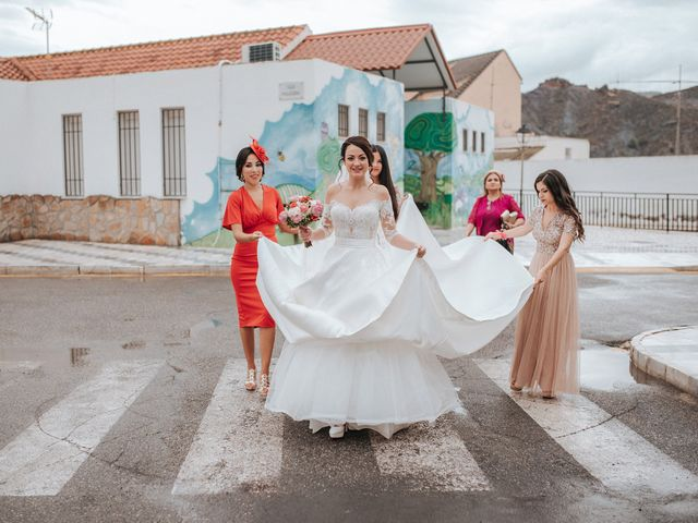La boda de Fernando y Hermy en Olula Del Rio, Almería 22
