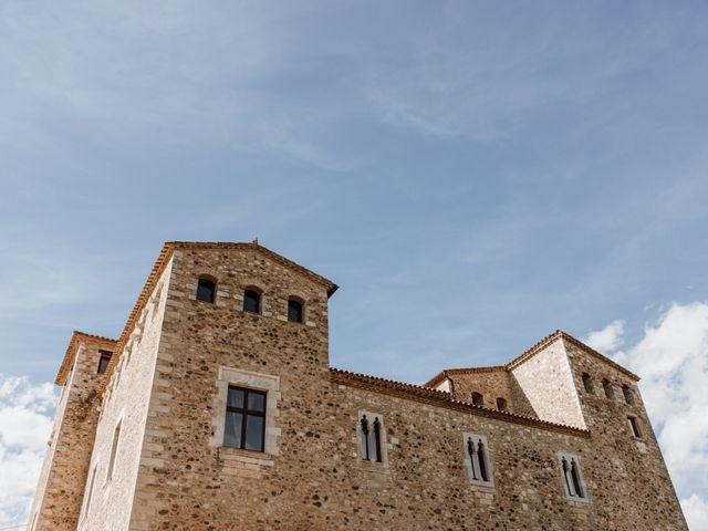 La boda de Martín y Karolina en Sant Gregori (Municipio), Girona 2