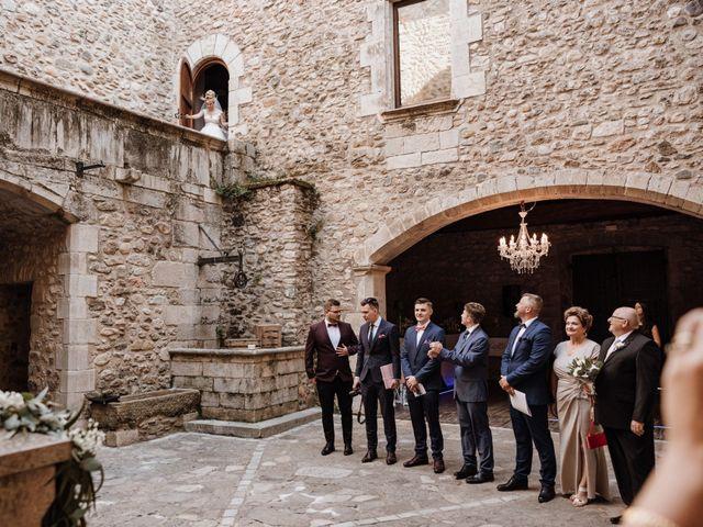 La boda de Martín y Karolina en Sant Gregori (Municipio), Girona 48
