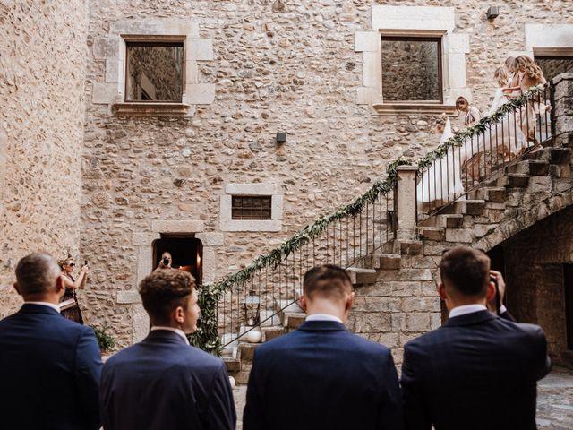 La boda de Martín y Karolina en Sant Gregori (Municipio), Girona 49
