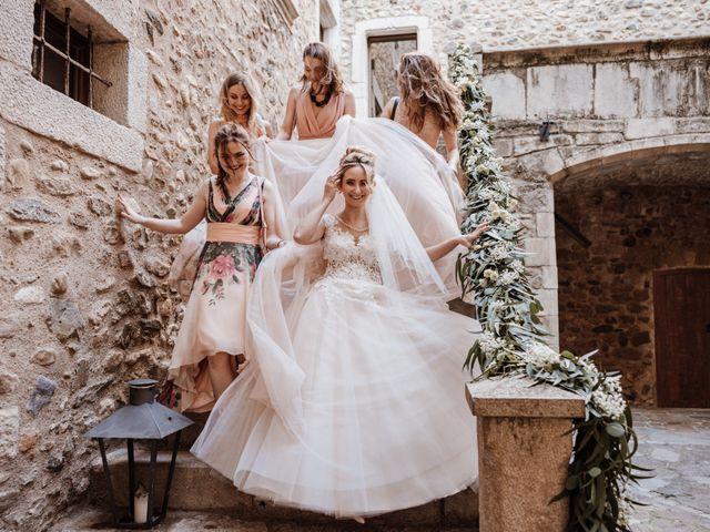 La boda de Martín y Karolina en Sant Gregori (Municipio), Girona 50