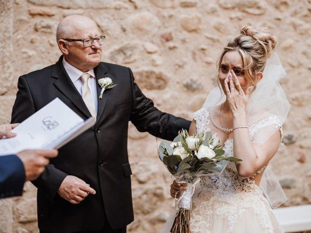 La boda de Martín y Karolina en Sant Gregori (Municipio), Girona 51