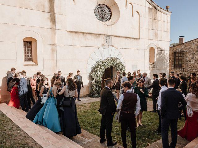 La boda de Martín y Karolina en Sant Gregori (Municipio), Girona 53