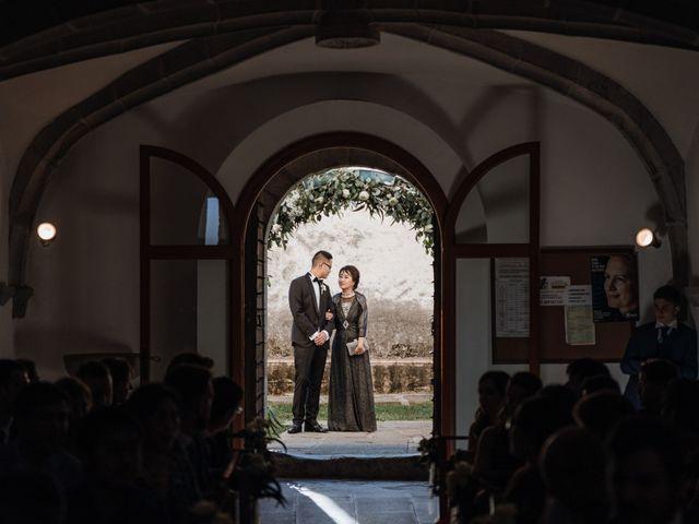 La boda de Martín y Karolina en Sant Gregori (Municipio), Girona 56
