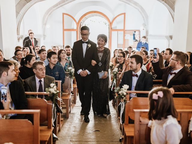 La boda de Martín y Karolina en Sant Gregori (Municipio), Girona 57