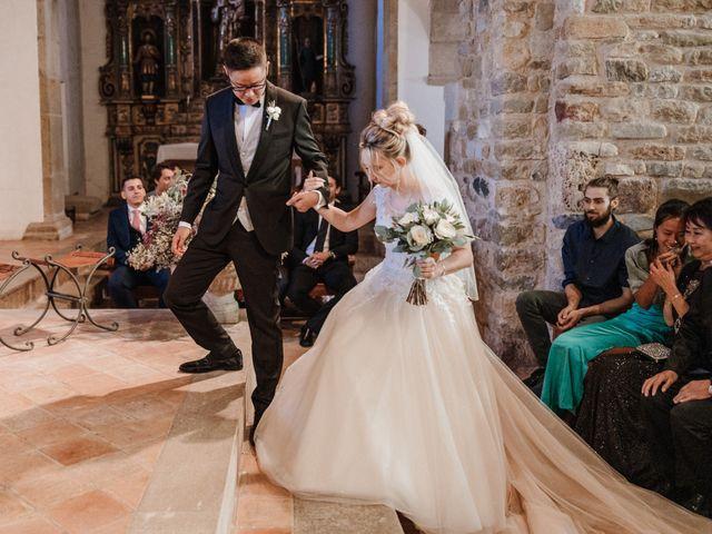 La boda de Martín y Karolina en Sant Gregori (Municipio), Girona 62